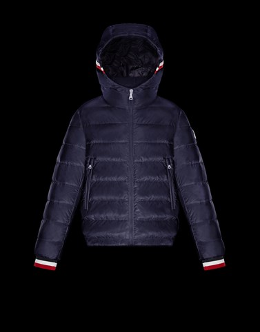 GIROUX Dark blue Category Short outerwear Man