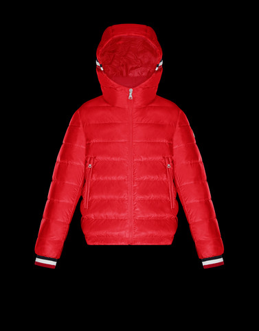 GIROUX Brick red Category Short outerwear Man