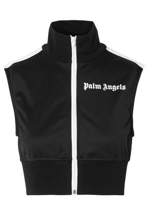 PALM ANGELS Embroidered knitted vest