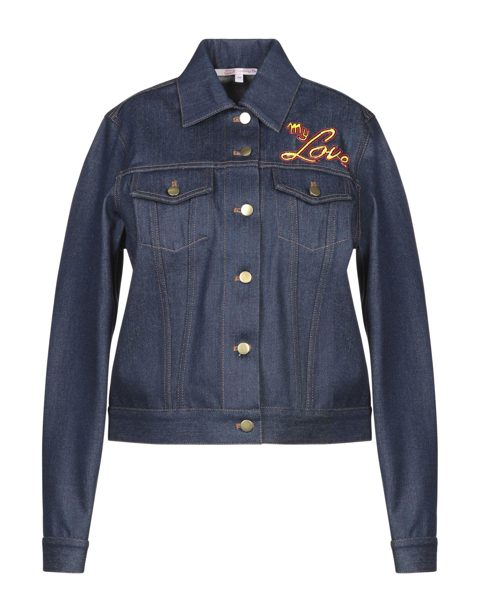 OLYMPIA LE-TAN Джинсовая верхняя одежда le volière джинсовая верхняя одежда