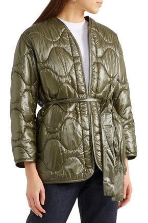 NILI LOTAN Quilted shell down jacket
