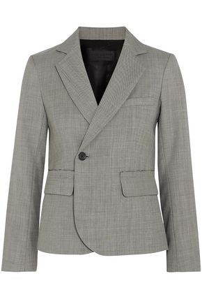 NILI LOTAN Double-breasted wool blazer