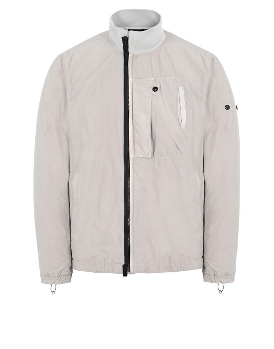 Jacket 40703 TRACK JACKET WITH DROP POCKET (NASLAN LIGHT)  STONE ISLAND SHADOW PROJECT - 0