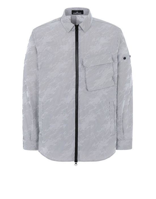 Jacket 41104 OVER SHIRT (LENTICULAR JACQUARD) STONE ISLAND SHADOW PROJECT - 0