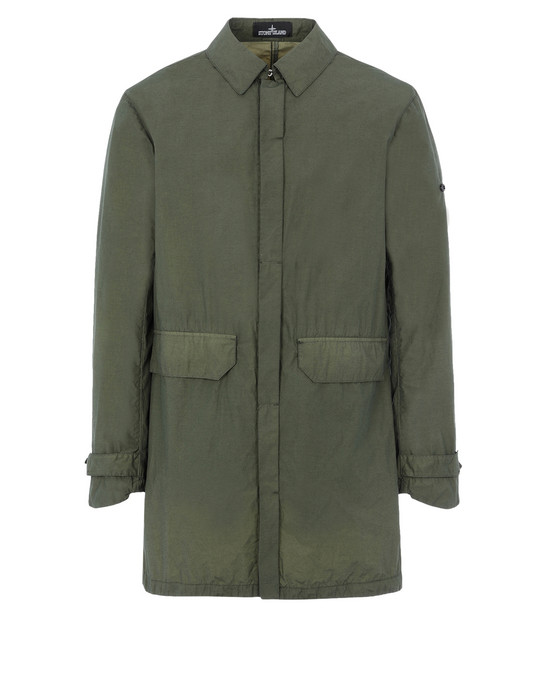 STONE ISLAND SHADOW PROJECT CAPOSPALLA LUNGO 70202 CAR COAT (NASLAN LIGHT WATRO)