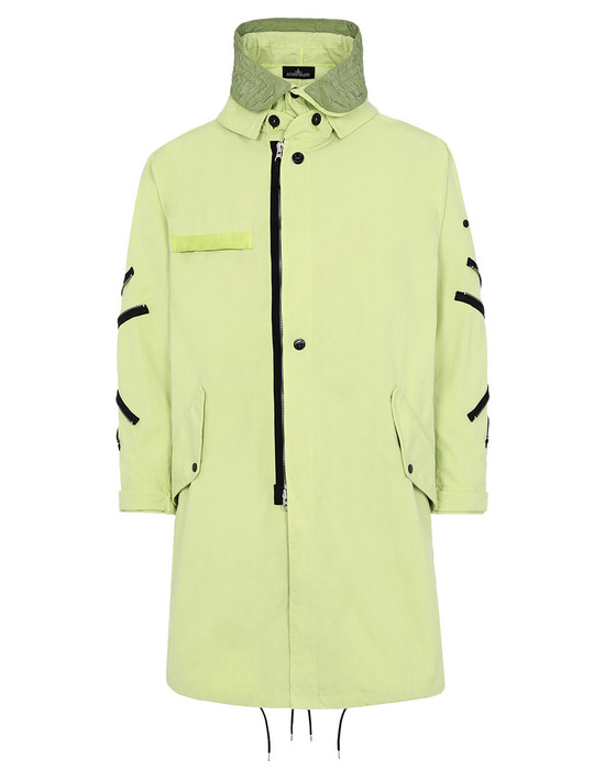 LONG JACKET 70401 OVERSIZED ARTICULATED FISHTAIL PARKA WITH DROP POCKET AND ADJUSTMENT ZIPPER (HOLLOWCORE) STONE ISLAND SHADOW PROJECT - 0