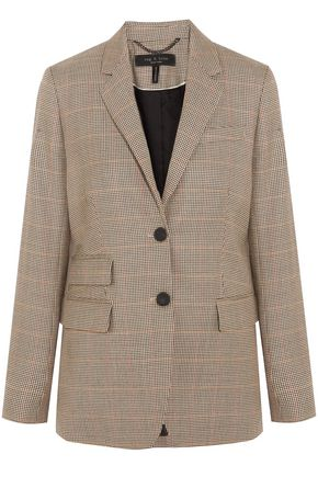 RAG & BONE Houndstooth wool blazer