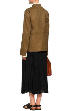 JIL SANDER Cotton-twill jacket