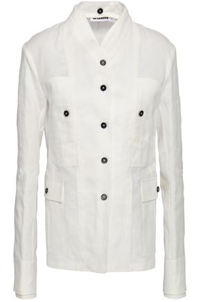 JIL SANDER Cotton-twill jacket