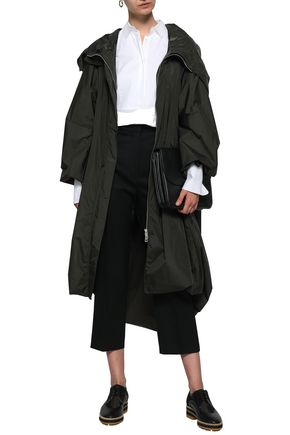 JIL SANDER Shell hooded jacket
