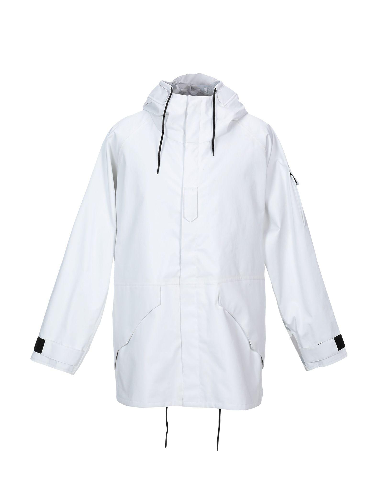 《セール開催中》ADD メンズ ライトコート ホワイト M コットン 100%