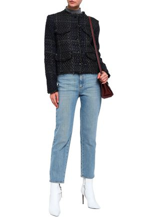 RAG & BONE Frayed tweed jacket