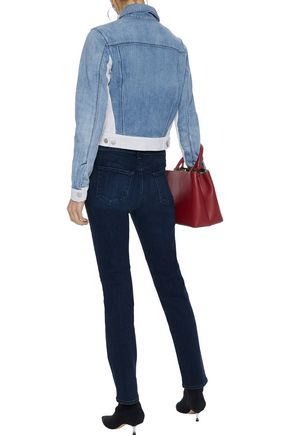 J BRAND Harlow two-tone denim jacket