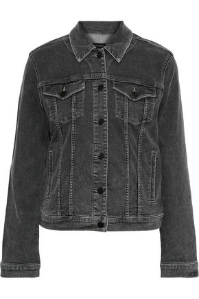 J BRAND Slim faded denim jacket