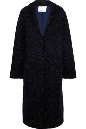 3.1 PHILLIP LIM Metallic knitted silk-blend coat