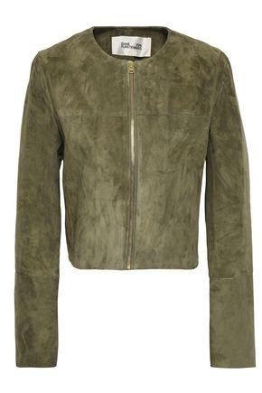 DIANE VON FURSTENBERG Suede jacket