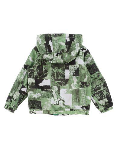 Фото 2 - Куртку зеленого цвета