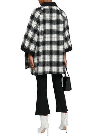 M MISSONI Checked wool-blend coat