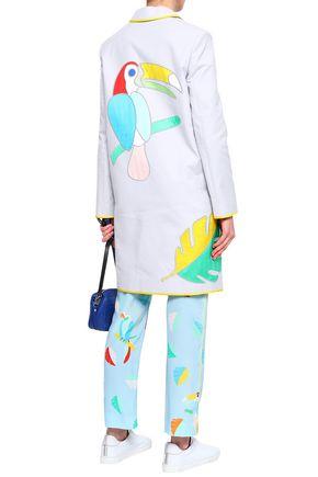 MIRA MIKATI Embroidered cotton jacket
