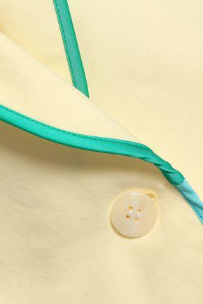 MIRA MIKATI Embroidered cotton blazer
