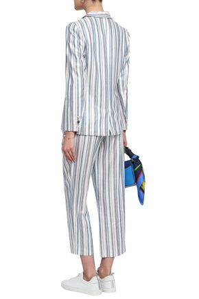 CLAUDIE PIERLOT Striped woven blazer
