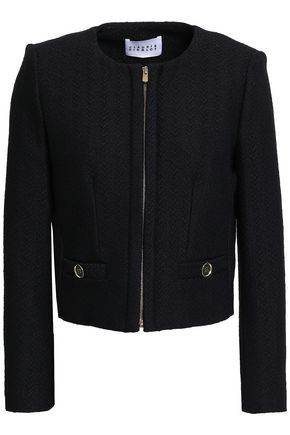 CLAUDIE PIERLOT Wool-blend jacquard jacket