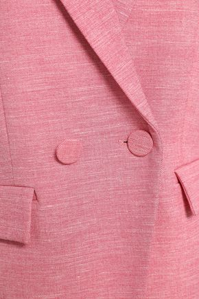 CLAUDIE PIERLOT Double-breasted woven blazer