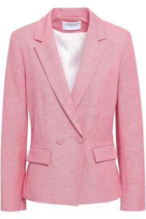 CLAUDIE PIERLOT Double-breasted woven blazer
