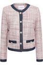 CLAUDIE PIERLOT Valeria embellished cotton-tweed jacket