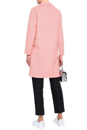 CLAUDIE PIERLOT Galva wool and silk-blend felt coat