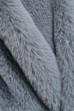 SURELL Faux fur vest