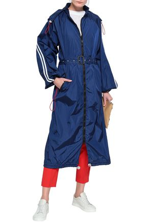 5040ca9c9bd8 JOSEPH Belted shell hooded jacket