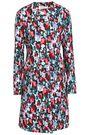MARNI Floral-print cotton-gabardine coat