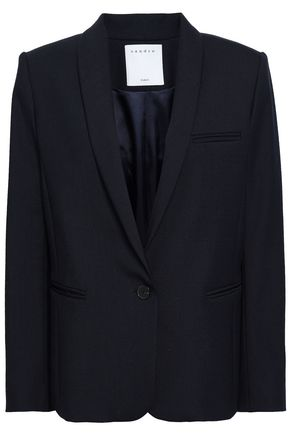 SANDRO Woven blazer