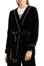 GANNI Belted chenille robe