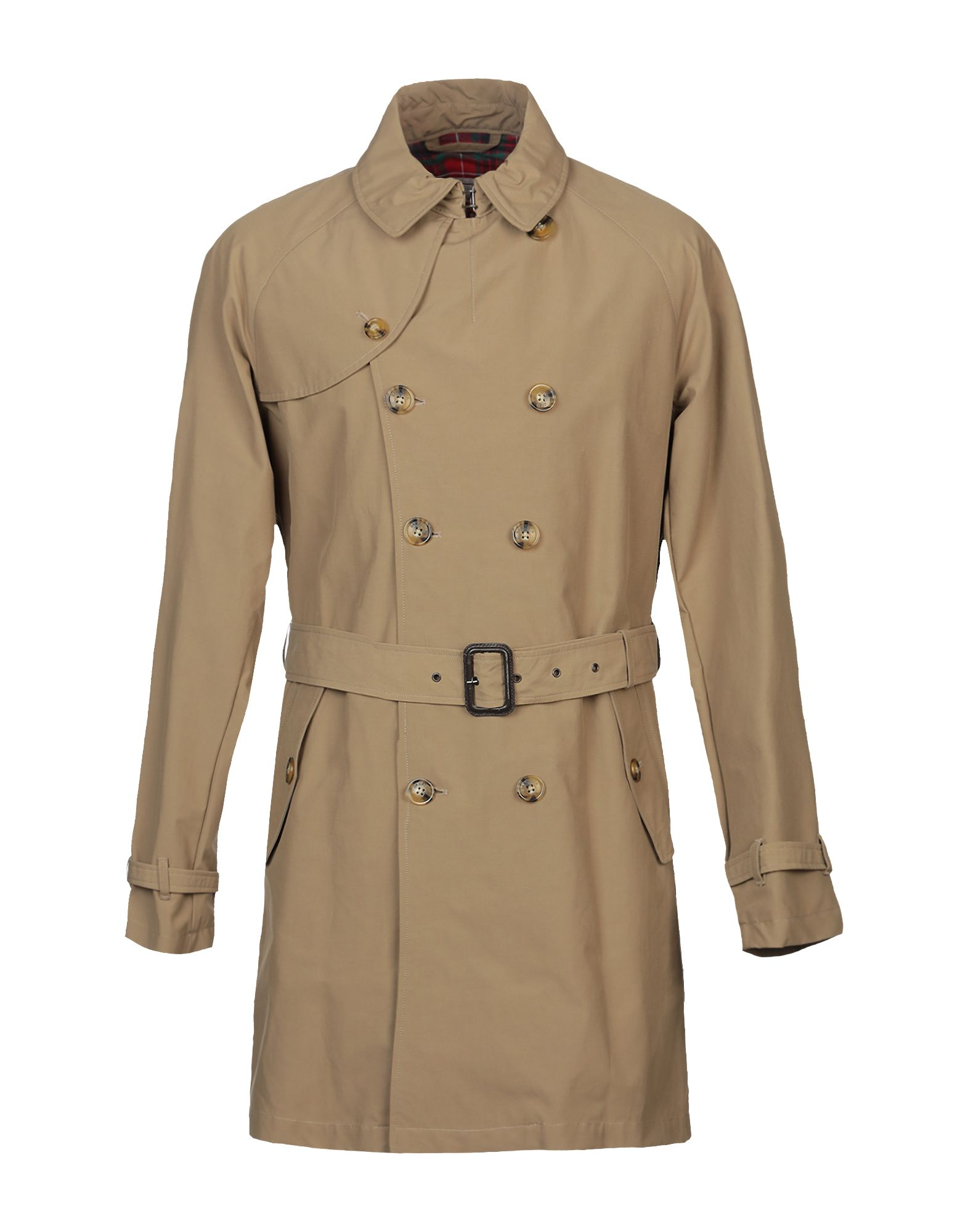 BARACUTA Overcoats in Khaki