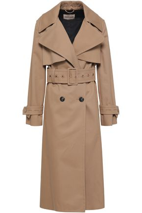 ROBERTO CAVALLI Double-breasted gabardine trench coat