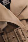 ROBERTO CAVALLI Double-breasted gabardine trench coat