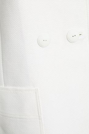 EMILIO PUCCI Double-breasted cotton coat