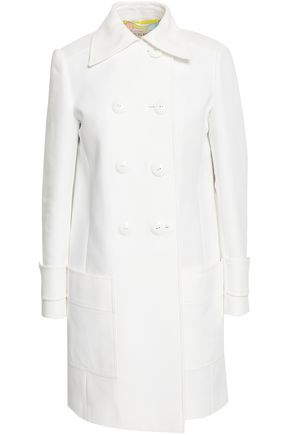 EMILIO PUCCI Double-breasted cotton coat