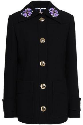 EMILIO PUCCI Embellished woven jacket