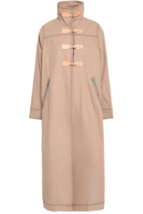 GANNI Cotton trench coat