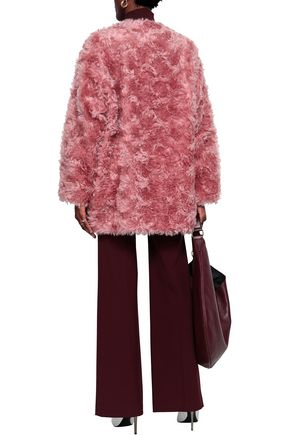 STELLA McCARTNEY Mohair, cotton and wool-blend coat