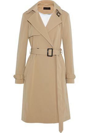 DONNA KARAN Double-breasted woven coat