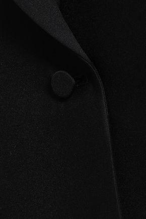 ヴァレンティノ ウール&シルク混クレープ ブレザー