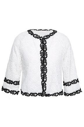 MAJE Guipure lace jacket