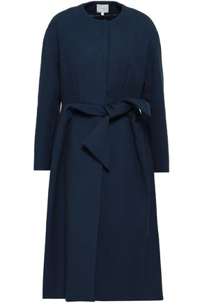 DELPOZO Cotton-blend crepe coat