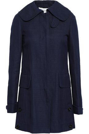 VALENTINO Linen and cotton-blend canvas jacket