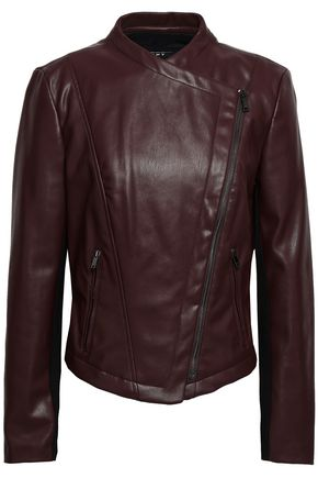 DKNY Faux leather biker jacket