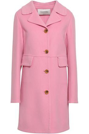 VALENTINO | Valentino Wool And Cashmere-Blend Felt Coat | Goxip